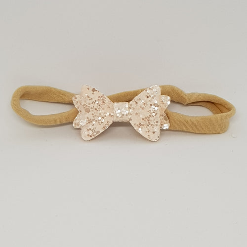 1.75 Inch Baby Sweetie Bow Headband - Sugared Almond