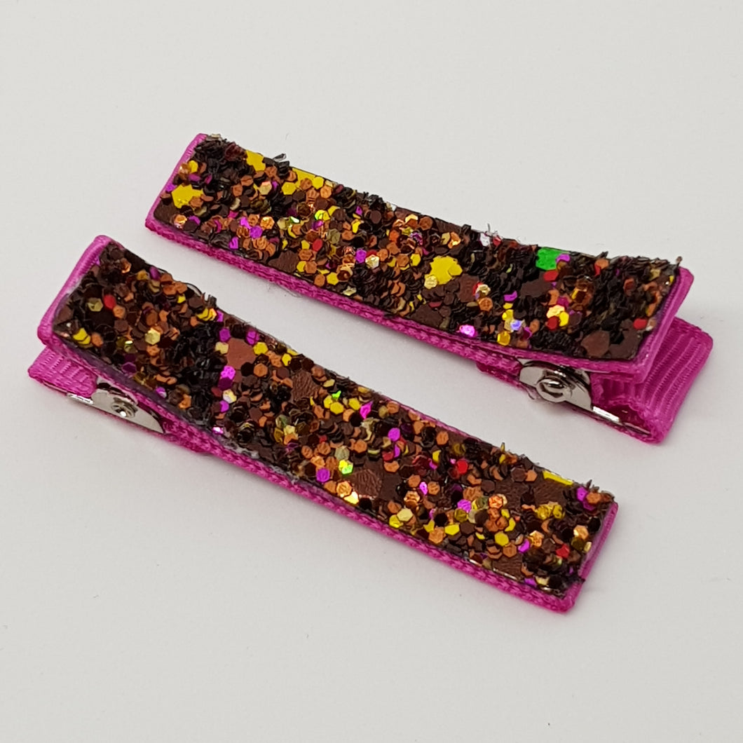 Glitter Essentials Clip Set - Fallen Leaves