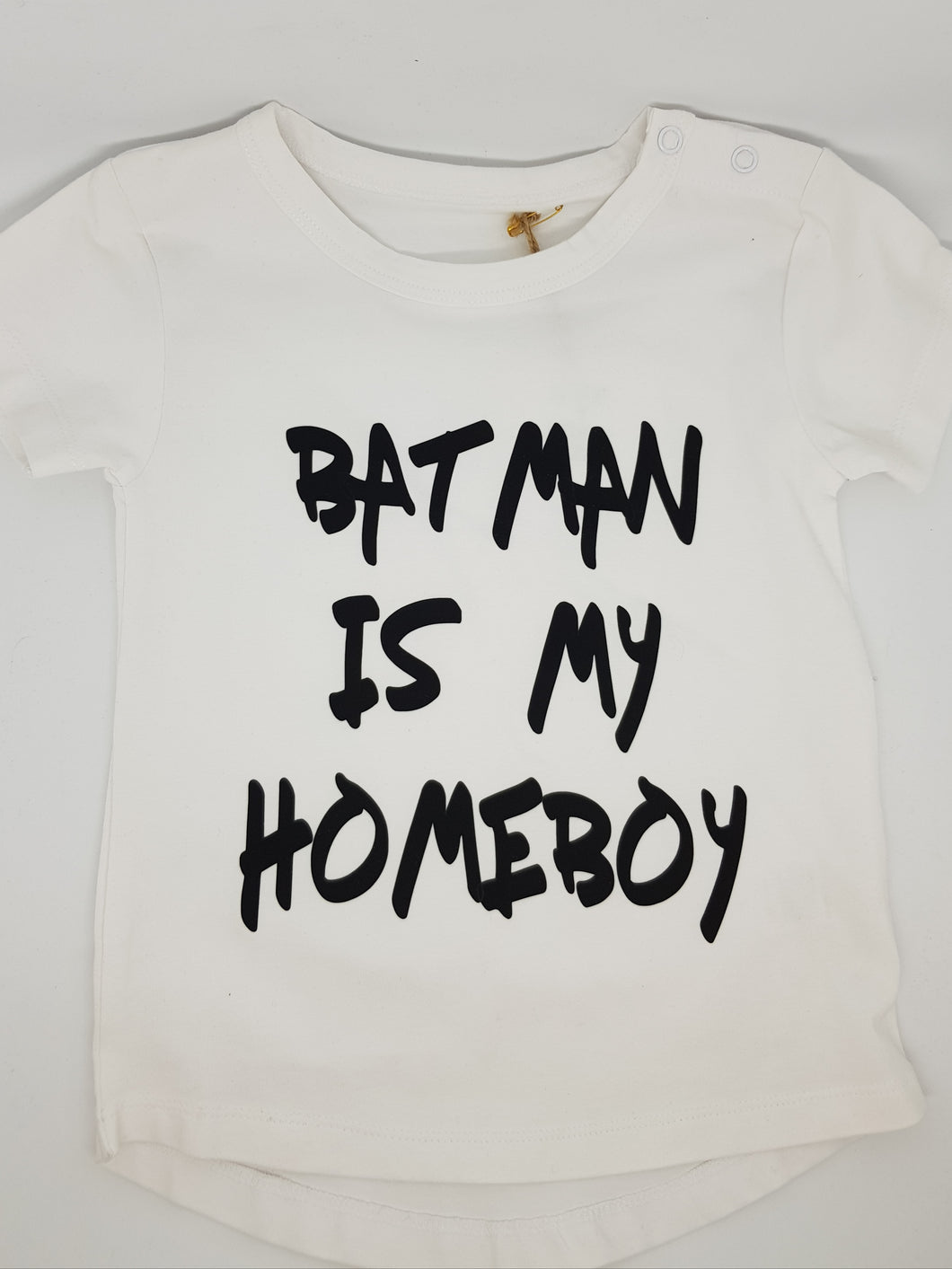 Boy's Size 1 Top - Batman Is My Homeboy