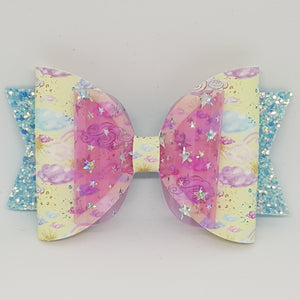 4.3 Inch Deluxe Natalie Bow - Fairy
