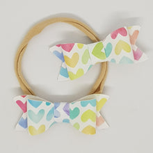 2.75 Inch Ivy Bow - Hearts