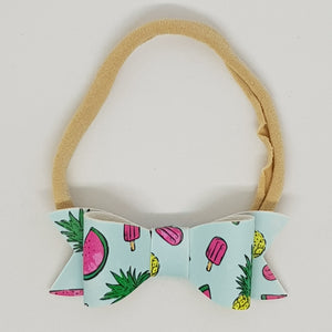 2.75 Inch Ivy Bow - Tropical Treats