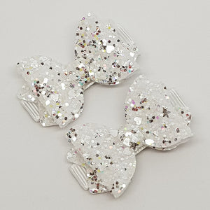 1.75 Inch Baby Ava Bow - Fairy Dust