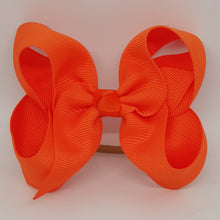 4 Inch Boutique Bow - Yellow & Oranges
