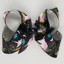 8 Inch Boutique Bow - Unicorn