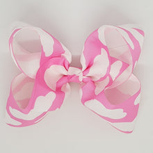 6 Inch Boutique Bow - Clouds