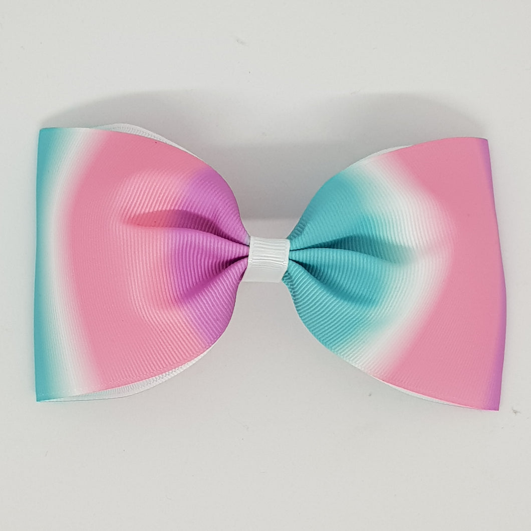 6 Inch Tailless Cheer Bow - Horizontal Graduating