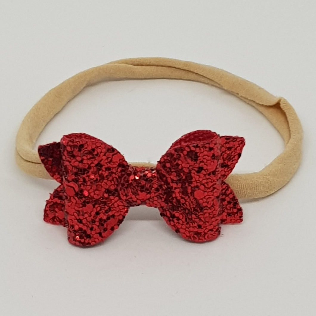 2 Inch Baby Beauty Bow - Red