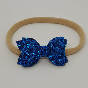2 Inch Baby Beauty Bow - Cobalt
