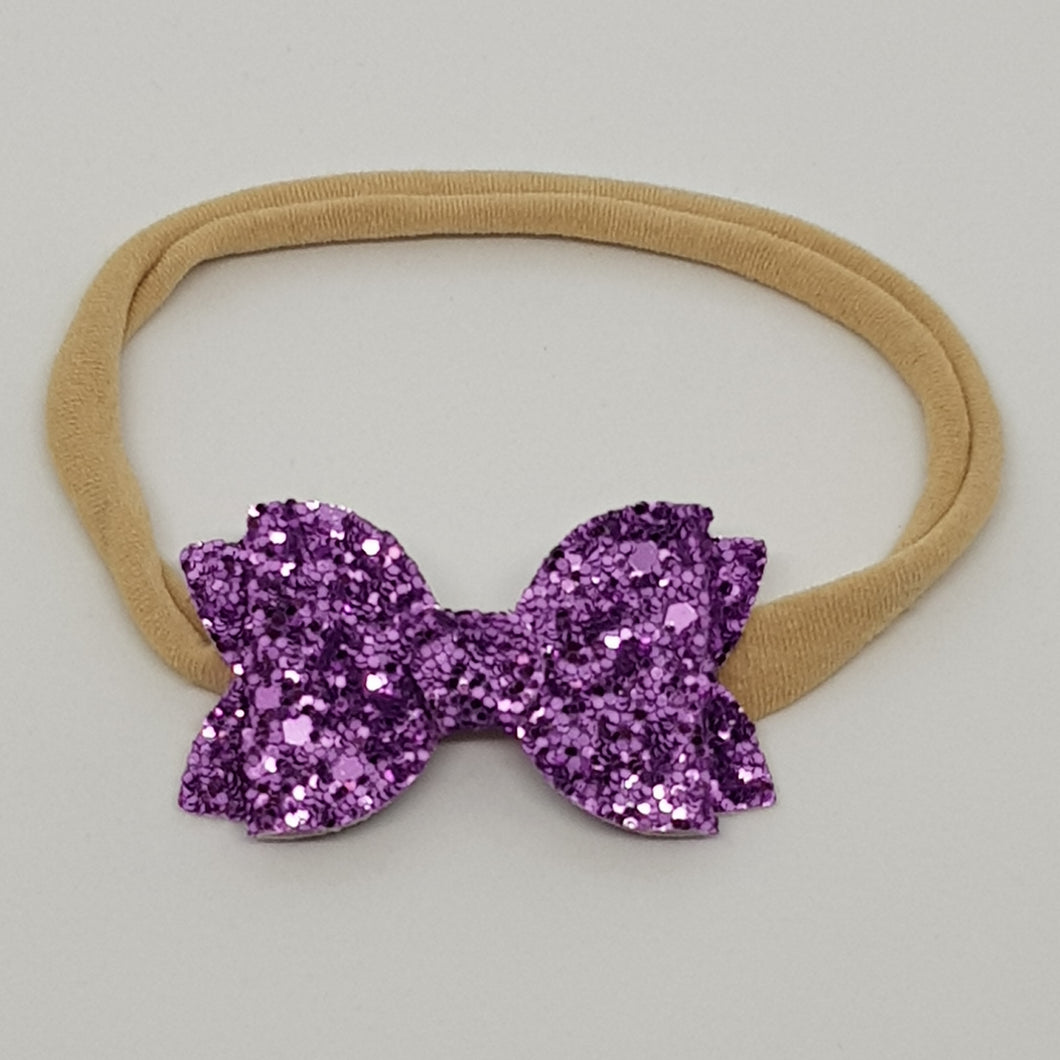 2 Inch Baby Beauty Bow - Lavender