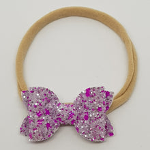 2 Inch Baby Beauty Bow - Purple Princess