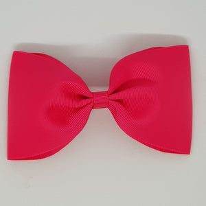 6 Inch Tailless Cheer Bow - Pinks