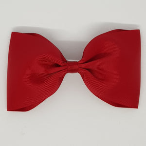 6 Inch Tailless Cheer Bow - Reds