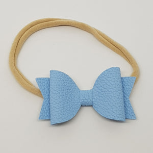 2.5 Inch Baby Natalie Bow - Bluebell