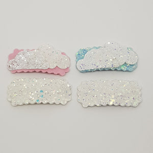 Snap Clip Set of 2 - Sparkling Clouds