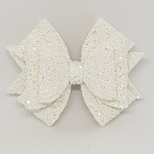 2.75 Inch Ameeah Bow - Snow White