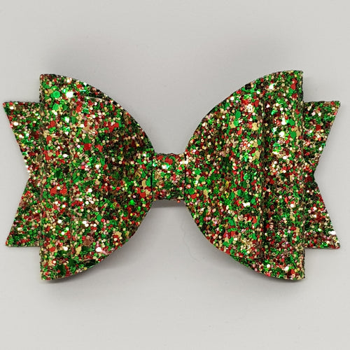 4.3 Inch Natalie Bow - Christmas Tree