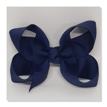 2.5 Inch Boutique Bow - Blues