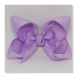 2.5 Inch Boutique Bow - Purples