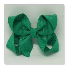 2.5 Inch Boutique Bow - Greens