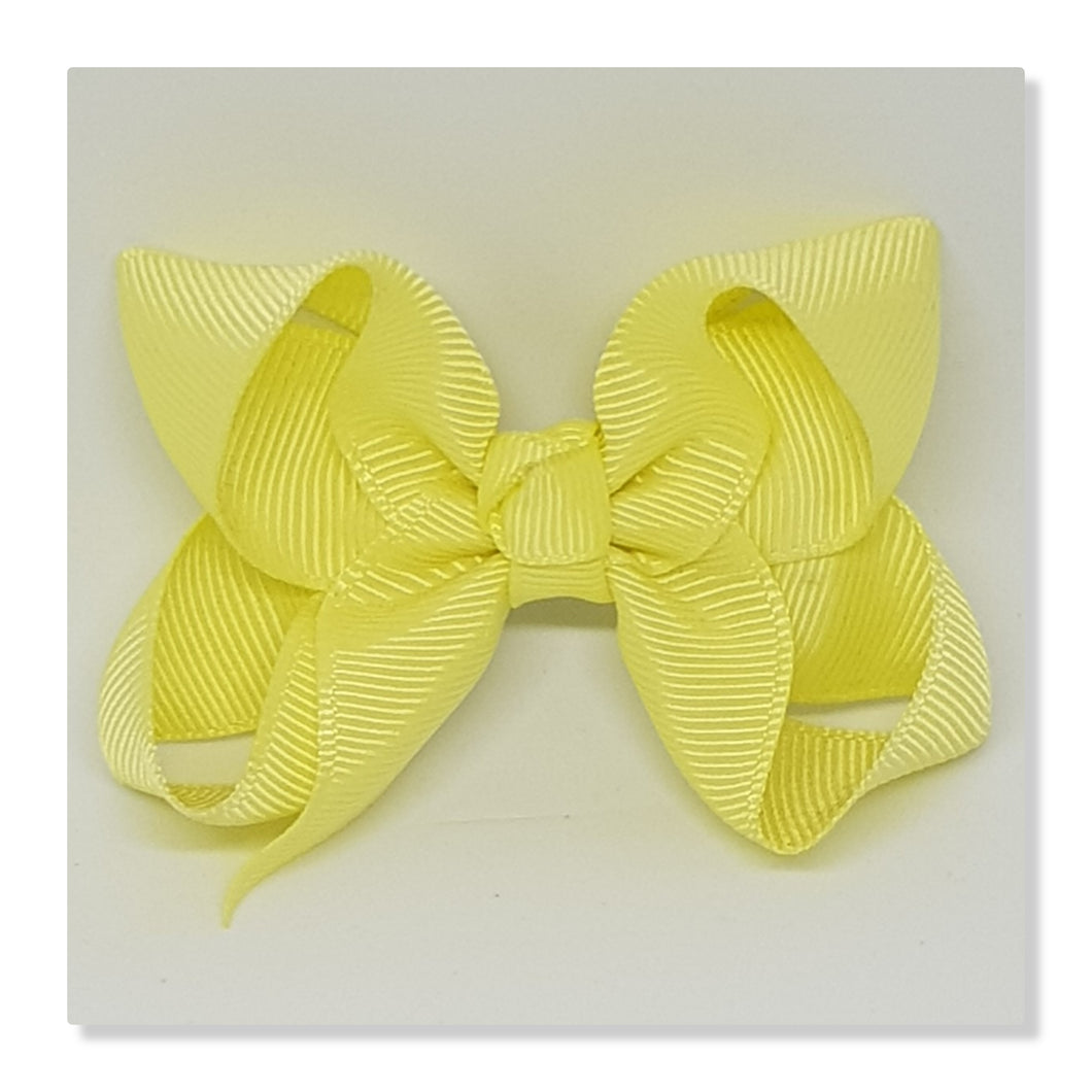 2.5 Inch Boutique Bow - Yellows