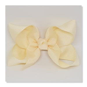 2.5 Inch Boutique Bow - Creams