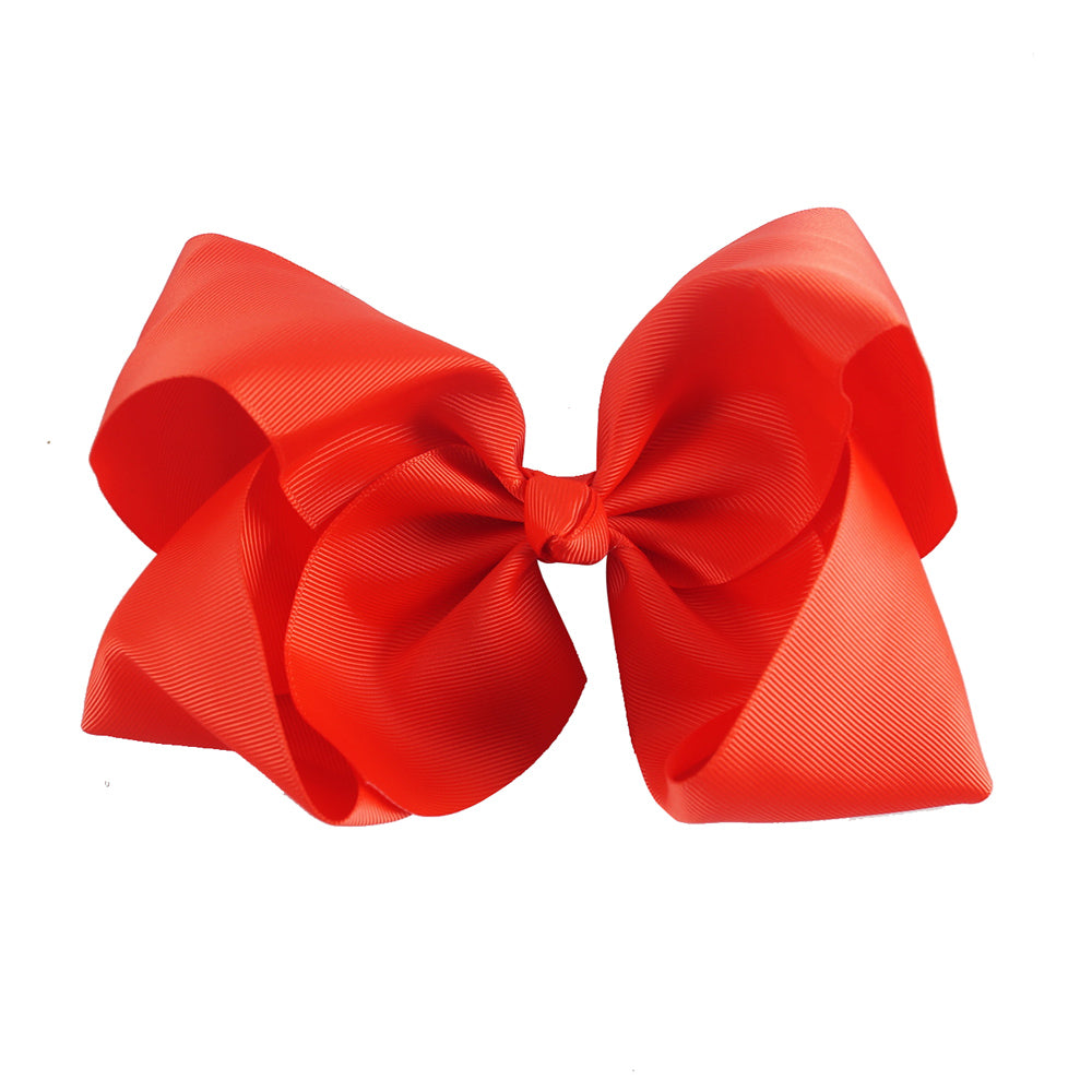 8 Inch Boutique Bow - Reds