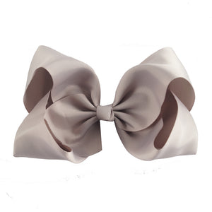 8 Inch Boutique Bow - Black to Whites