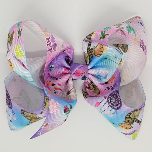 8 Inch Boutique Bow - BFF