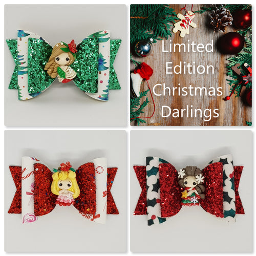 4.3 Inch Deluxe Natalie Bow - Christmas Darlings