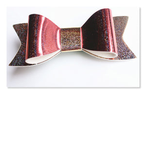 2.75 Inch Ivy Hologram / Reflective Hair Bow