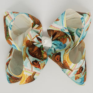 8 Inch Boutique Bow - Moana