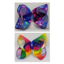 8 Inch Boutique Bow - Galaxy