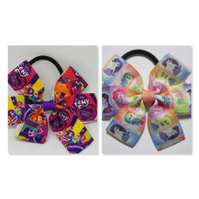 3.5 Inch Pinwheel Bow on Elastic - My Little Pony - Equestria Girls