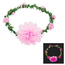 Light Up Flower garland