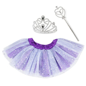 Tutu to go Twinkling Star Set in Tub - Purple
