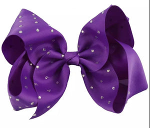 8 Inch Boutique Bow with Bling