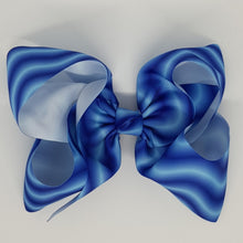 8 Inch Boutique Bow - Waves