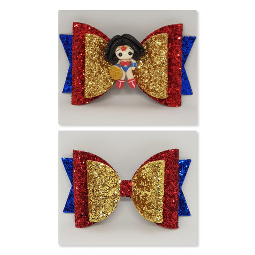 4.3 Inch Deluxe Natalie Bow - Wonder Woman Inspired