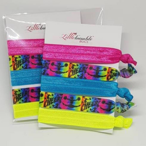 Yoga Hair Tie Set - Cheer!