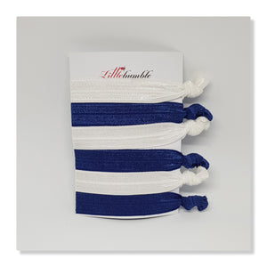 Yoga Hair Tie Set - Blue Combinations