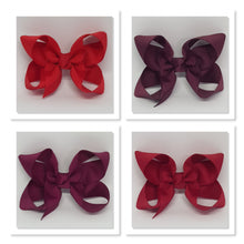 2.5 Inch Boutique Bow - Reds