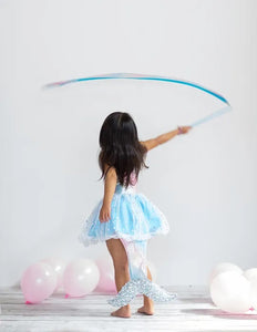 Rainbow Dance Ribbon Wand - Pastels