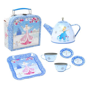 Snow Princess Tea Set in Mini Case