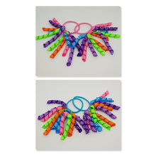 3 Inch Korker Set of 2 - Hot Pink, Turquoise, Acid Green, Purple, Regal Purple and Tangerine with White spots