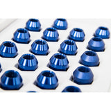 6TWO1 7075-T6 Aluminium Lug Nuts Blue