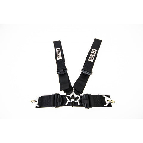 6TWO1 FIA Approved 4 Point Harness BLACK