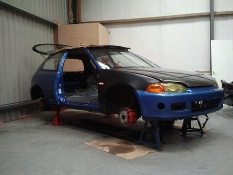 EG6 Track Car Build