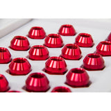 6TWO1 7075-T6 Aluminium Lug Nuts RED