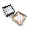 Tie the Knot Bracelet & Earrings - Bridesmaid Proposal Box Set